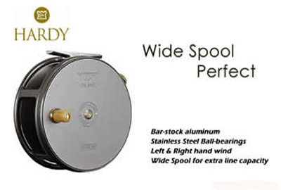 Hardy Wide Spool Perfect Reel